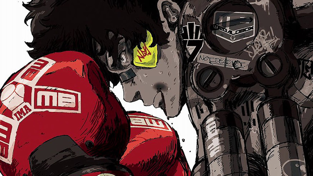 megalo box promotional picture