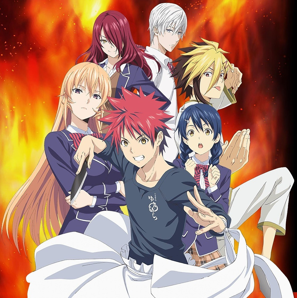 shokugeki no soma promotional picture