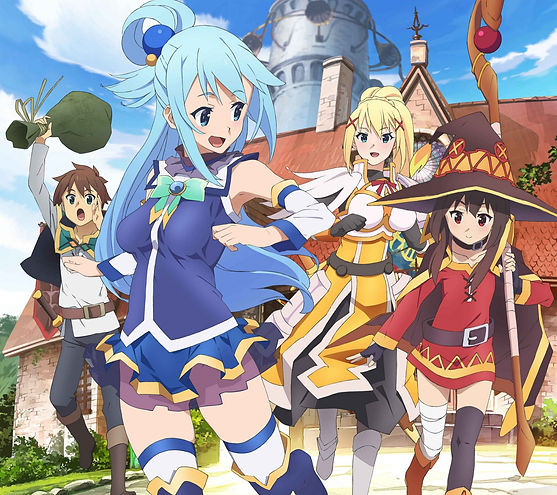Konosuba promotional picture