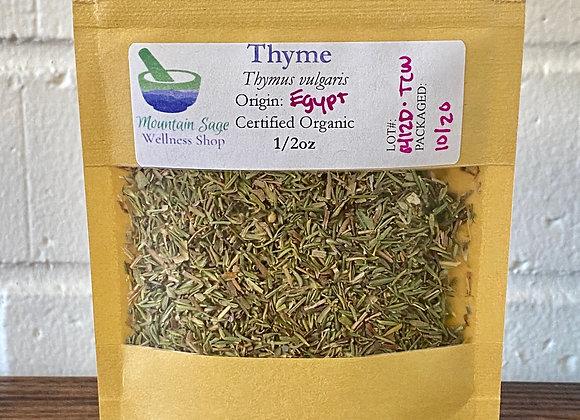Certified Organic Thyme ∣ Mountain Sage Wellness Shop