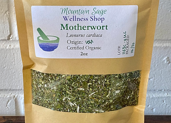 Certified Organic Motherwort ∣ Mountain Sage Wellness Shop