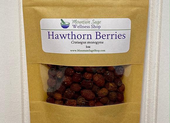 Organic Hawthorn Berries ∣ Herb Shop ∣ Bulk Herbs ∣ Organic Herbs ∣ Mountain Sage Wellness Shop
