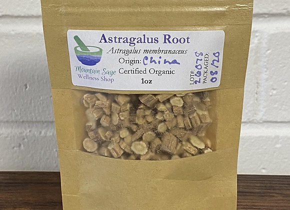 Certified Organic Astragalus Root ∣ Mountain Sage Wellness Shop