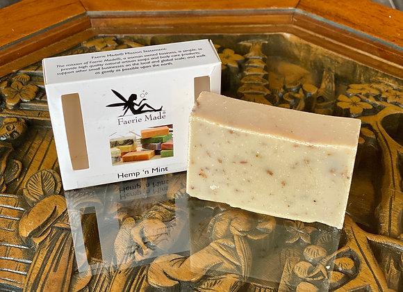 Hemp 'n Mint Handmade Soap