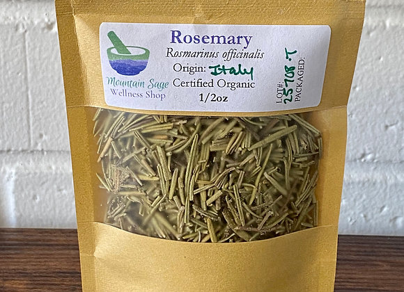 Certified Organic Rosemary Mountain Sage Wellness Shop