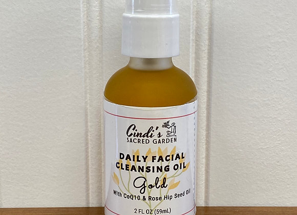 Daily Facial Cleanse Oil ~ Gold