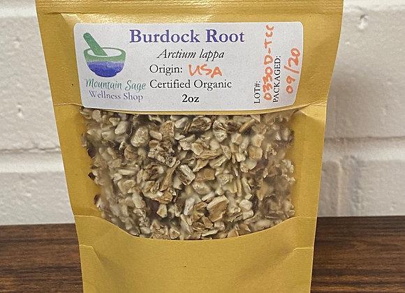 Certified Organic Burdock Root ∣ Mountain Sage Wellness Shop