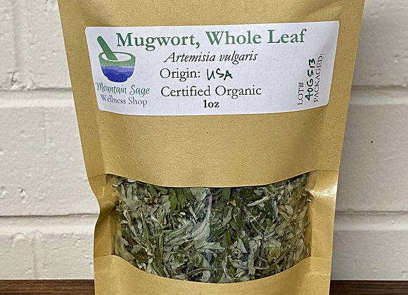 Certified Organic Mugwort ∣ Mountain Sage Wellness Shop