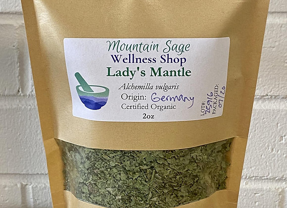Certified Organic Lady's Mantle ∣ Mountain Sage Wellness Shop