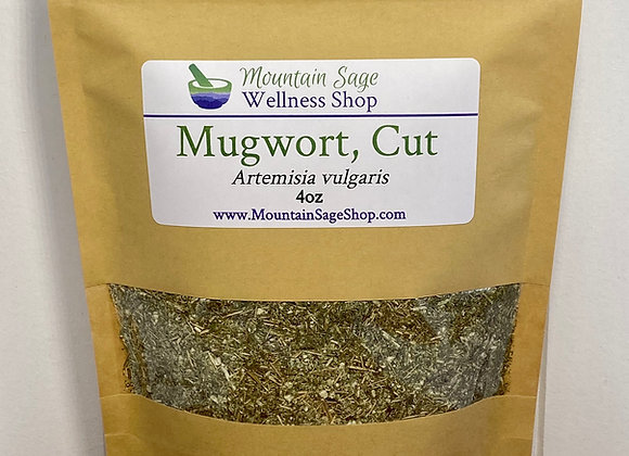 Organic Mugwort Cronewort ∣ Herb Shop ∣ Bulk Herbs ∣ Organic Herbs ∣ Mountain Sage Wellness Shop