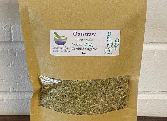 Certified Organic Oatstraw Mountain Sage Wellness Shop