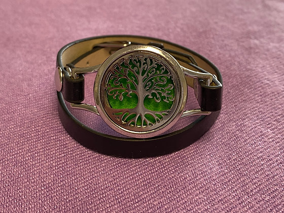 Double Strap Diffuser Bracelet ~ Tree of Life