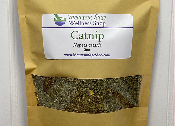 Organic Catnip ∣ Herb Shop ∣ Bulk Herbs ∣ Organic Herbs ∣ Mountain Sage Wellness Shop
