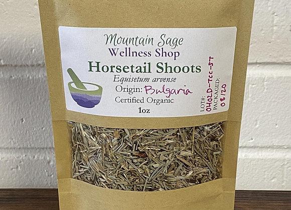 Certified Organic Horsetail Shoots ∣ Mountain Sage Wellness Shop