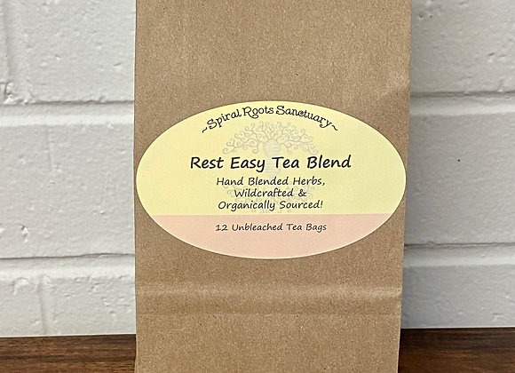 Rest Easy Herbal Tea Blend ∣ Mountain Sage Wellness Shop