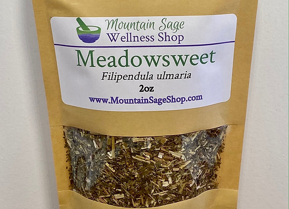 Organic Meadowsweet ∣ Herb Shop ∣ Bulk Herbs ∣ Organic Herbs ∣ Mountain Sage Wellness Shop