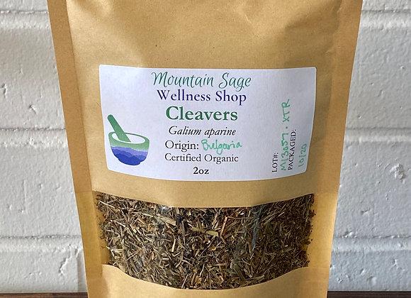 Certified Organic Cleavers ∣ Mountain Sage Wellness Shop