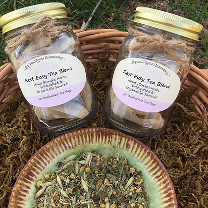 Rest Easy Herbal Tea Blend