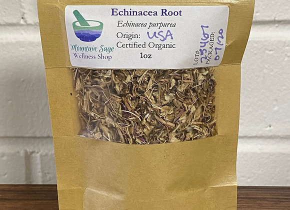 Certified Organic Echinacea Root ∣ Mountain Sage Wellness Shop