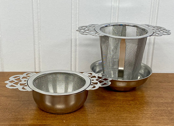 Tea Strainers with Cup