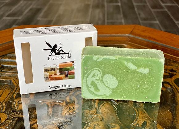 Ginger Lime Handmade Soap