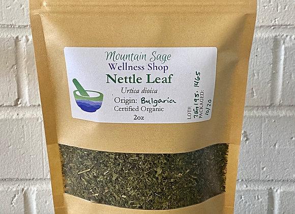 Certified Organic Stinging Nettle Leaf Mountain Sage Wellness Shop