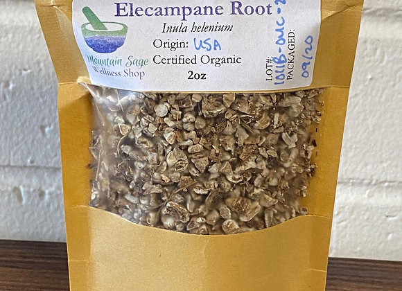 Certified Organic Elecampane Root ∣ Mountain Sage Wellness Shop