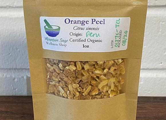 Certified Organic Orange Peel Mountain Sage Wellness Shop