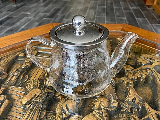 Round Glass Teapots