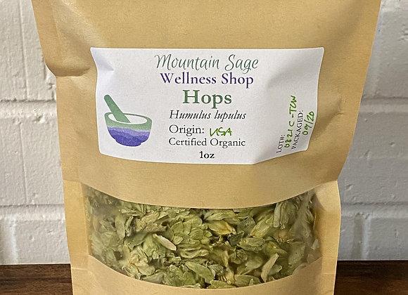 Certified Organic Hops ∣ Mountain Sage Wellness Shop
