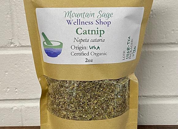 Certified Organic Catnip ∣ Mountain Sage Wellness Shop