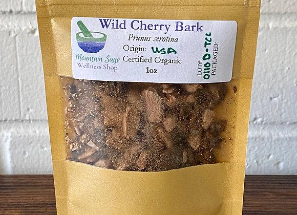 Certified Organic Wild Cherry Bark ∣ Mountain Sage Wellness Shop