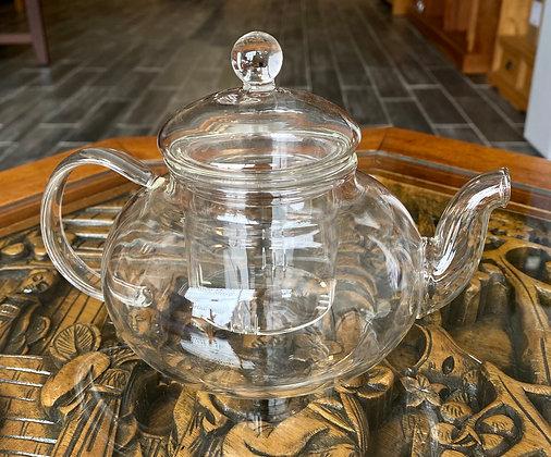 All Glass Teapot