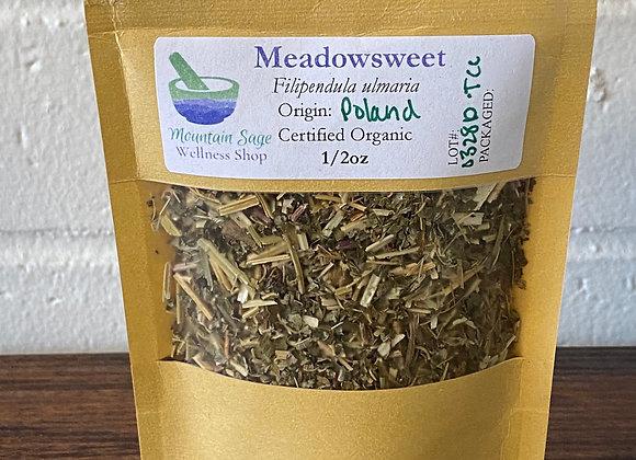 Certified Organic Meadowsweet ∣ Mountain Sage Wellness Shop
