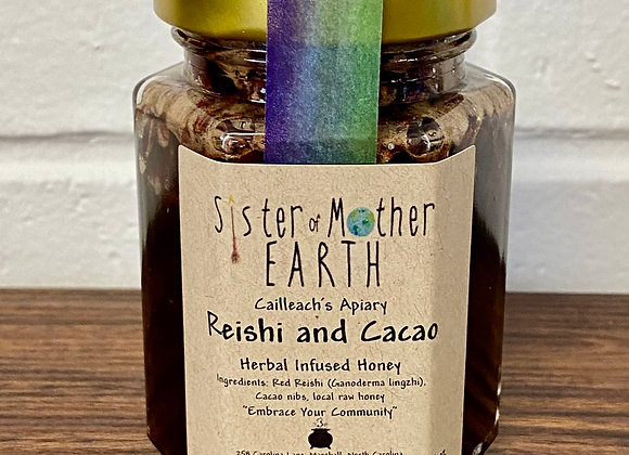 Reishi and Cacao Herbal Honey