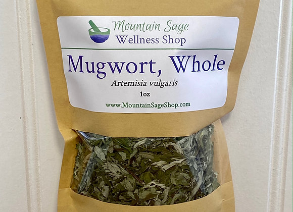 Organic Mugwort ∣ Herb Shop ∣ Bulk Herbs ∣ Organic Herbs ∣ Mountain Sage Wellness Shop