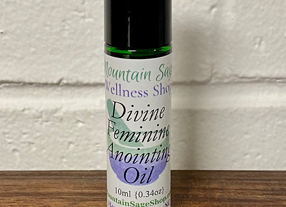 Divine Feminine Anointing Oil ∣ Mountain Sage Wellness Shop