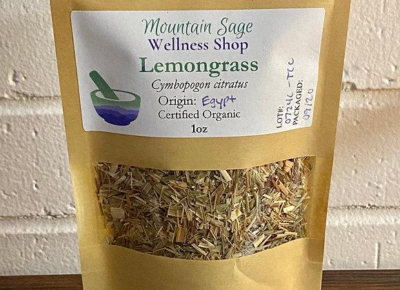 Certified Organic Lemongrass ∣ Mountain Sage Wellness Shop