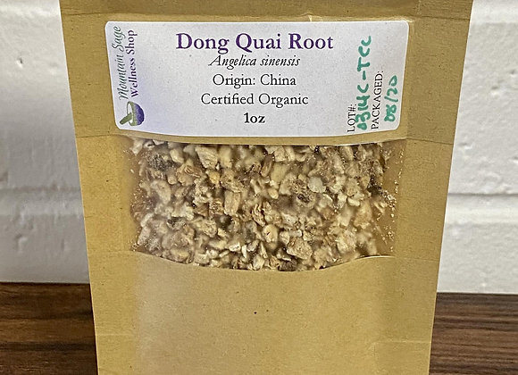 Certified Organic Dong Quai Root ∣ Mountain Sage Wellness Shop