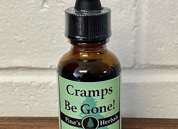 Cramps Be Gone! Herbal Tincture