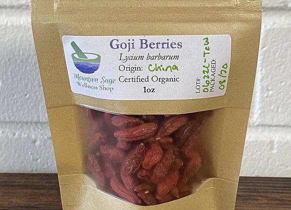 Certified Organic Goji Berries ∣ Mountain Sage Wellness Shop