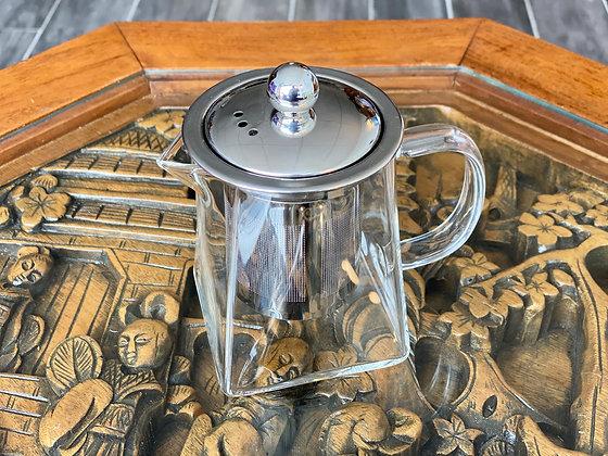 Square Glass Teapots