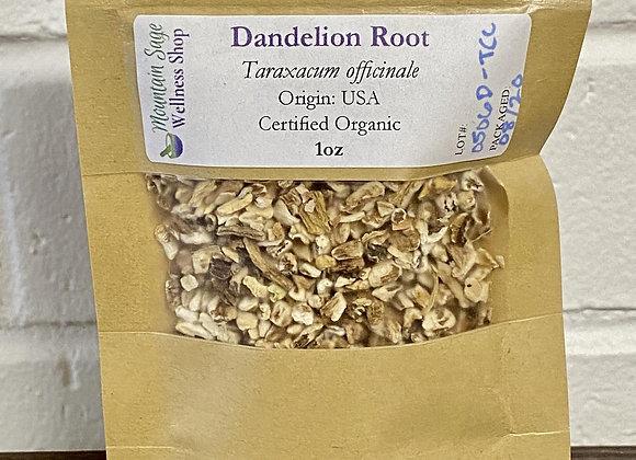 Certified Organic Dandelion Root ∣ Mountain Sage Wellness Shop