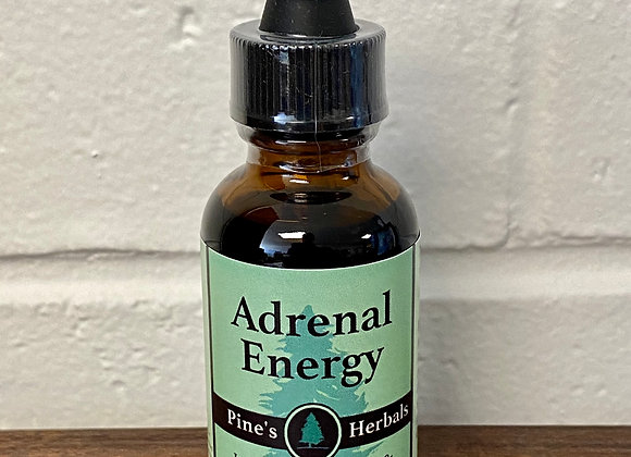 Adrenal Energy Herbal Tincture ∣ Mountain Sage Wellness Shop