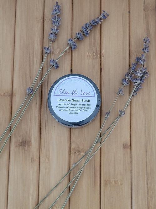 Lavender Sugar Scrub 2 oz