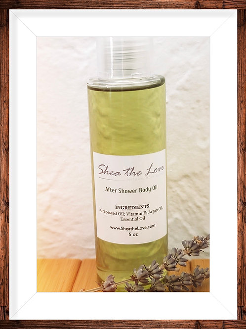 After Shower Body Oil