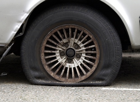 Want to be a CEO? – Just get a flat tire!