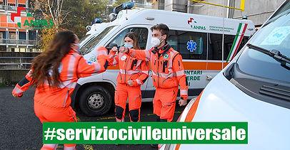 Servizio Civile: disponibili 385 posti con le associazioni Anpas