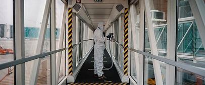 Nuovo sistema di igienizzazione all'aeroporto Marco Polo