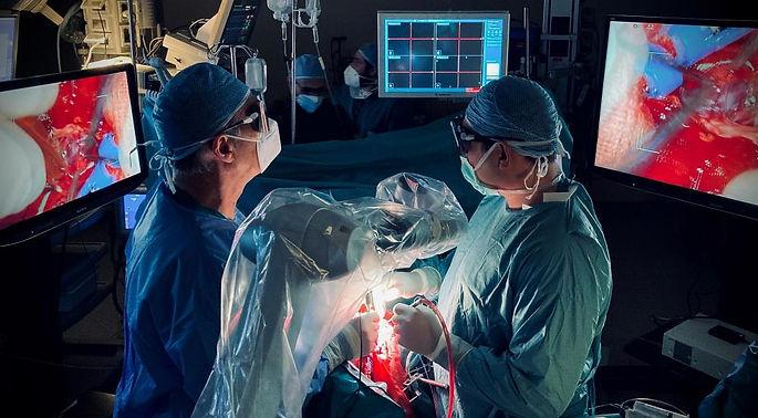 Neurochirurgia in alta definizione con l'esoscopio 3D in 4K